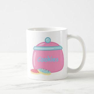 Yummy Sweets Dessert Food Pink Cookie Jar Guests Coffee Mug