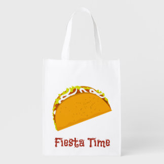 Yummy Taco Grocery Bag