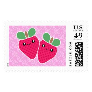 Yummy Treats Strawberry Kawaii Postage