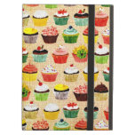 Yummy Vintage Cupcakes Cover For iPad Air