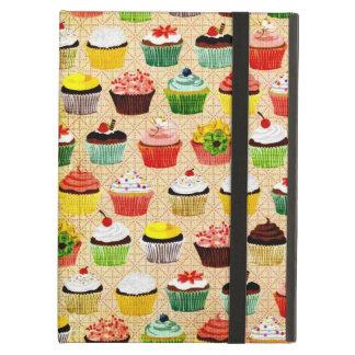 Yummy Vintage Cupcakes iPad Folio Case