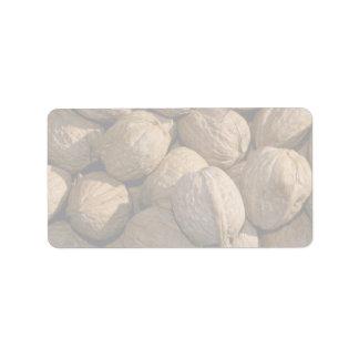 Yummy Walnuts Label