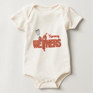 Yummy Weiners Baby Bodysuit