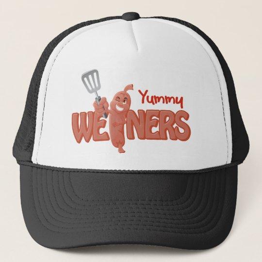 Yummy Weiners Trucker Hat