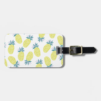 Yummy Yellow Pineapples Summer Fruit Luggage Tag