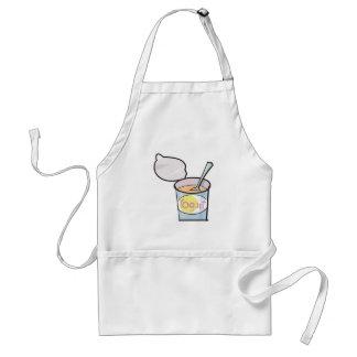 yummy yogurt adult apron