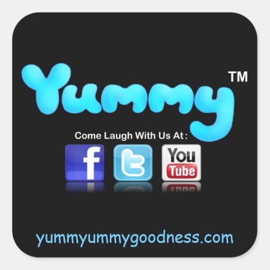 Yummy Yummyummygoodness.com Sticker