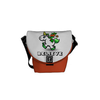 "Yummy's ""Believe"" Fanny Pack Messenger Bag"