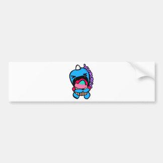 yumyum monster bumper sticker