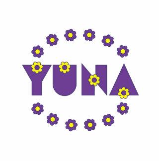 Yuna in Flores Purple Statuette