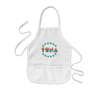 Yuna in Flores Rainbow Kids' Apron