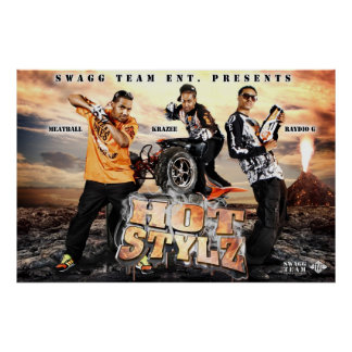 Yung Joc Hot Stylz Promo Pic Poster