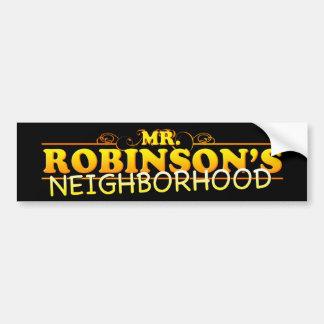 Yung Joc Mr. Robinson's Neighborhood Bumper Sticke Bumper Stickers