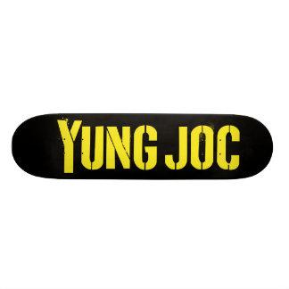 Yung Joc Yellow Logo Skateboard
