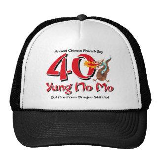 Yung ningún 40.o cumpleaños del MES Gorras