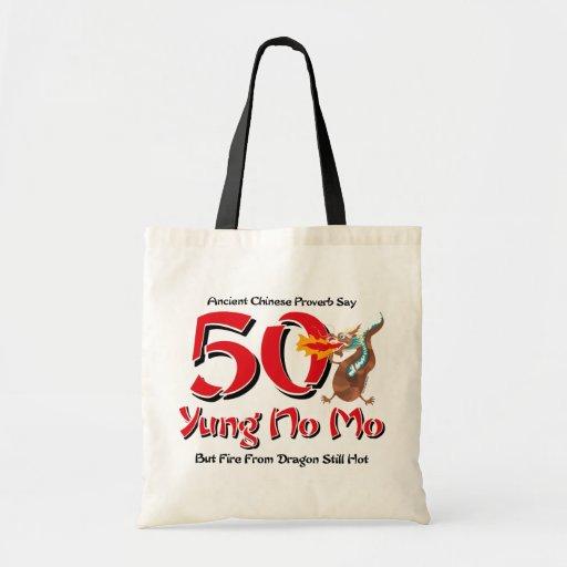 Yung ningún 50.o cumpleaños del MES Bolsas