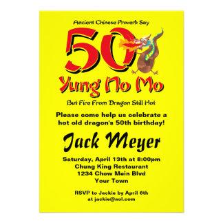 Yung ningún 50 o cumpleaños del MES Comunicados Personales