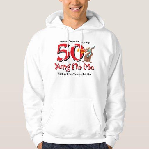 Yung ningún 50.o cumpleaños del MES Jersey Encapuchado