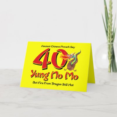celebrate a 40th birthday with this design featuring a