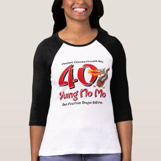 Yung No Mo 40th Birthday T Shirts