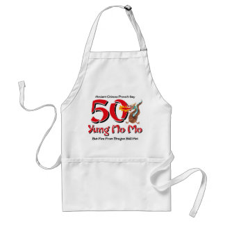 Yung No Mo 50th Birthday Adult Apron