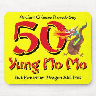 Yung No Mo 50th Birthday Mouse Pad