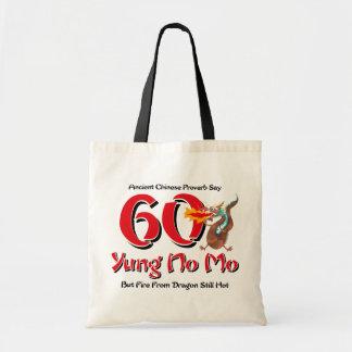 Yung No Mo 60th Birthday Canvas Bags