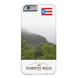 Yunque, Puerto Rico Flag Barely There iPhone 6 Case