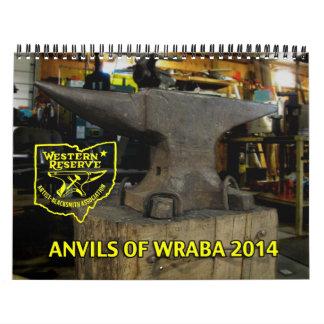 Yunques de WRABA para el calendario impreso 2014