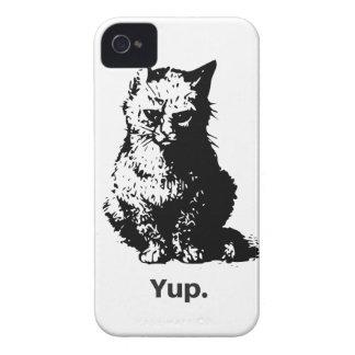 Yup. Cat iPhone 4 Case