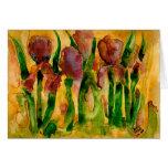 Yupo Irises Cards