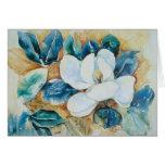 Yupo Magnolia Greeting Card