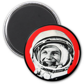 Yuri Gagarin - héroe y cosmonauta soviéticos Imán Redondo 5 Cm