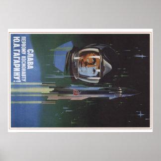 Yuri Gagarin Póster