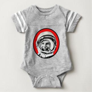 Yuri Gagarin - Soviet Hero & Cosmonaut Baby Bodysuit