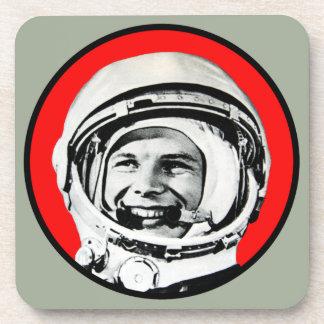 Yuri Gagarin - Soviet Hero & Cosmonaut Coaster