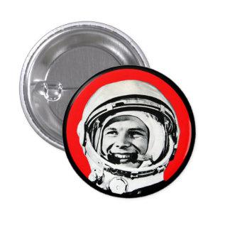 Yuri Gagarin - Soviet Hero & Cosmonaut Pinback Button