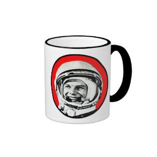 Yuri Gagarin - Soviet Hero & Cosmonaut Ringer Mug