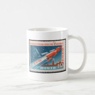Yuri Gagarin Vostok 1 es 1r hombre en espacio Taza
