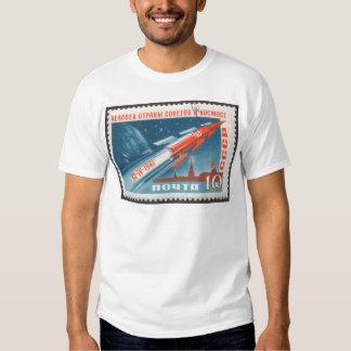 Yuri Gagarin Vostok 1 is 1st Man in Space T-shirt
