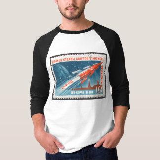 Yuri Gagarin Vostok 1 is 1st Man in Space Tee Shirts