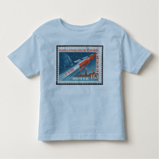 Yuri Gagarin Vostok 1 is 1st Man in Space Tshirts
