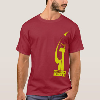 YURI GAGARIN VOSTOK 1 T-Shirt