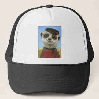 Yuri the meerkat trucker hat