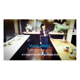 yuria business card