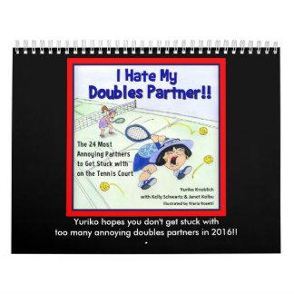 Yuriko calendar (med)- I Hate My Doubles Partner