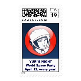 Yuri's Night stamps