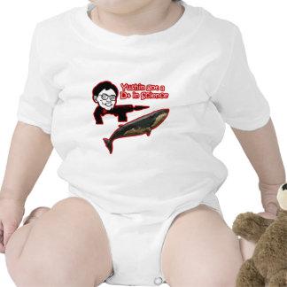 Yushin el cazador de la ballena traje de bebé