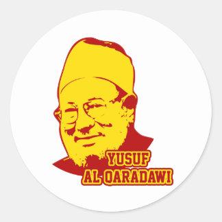 Yusuf Al Qaradawi Classic Round Sticker