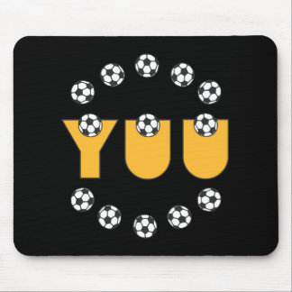 Yuu in Soccer Gold Mouse Pad